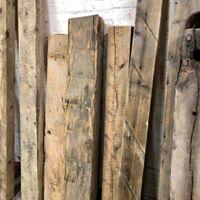 sanded beams